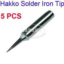 5PCS Solder Iron Point Tip For Hakko Soldering Rework Atten Quick Station T-I AU