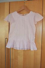 H&M pale powder pink, very pretty, lightweight 100% cotton top - age 13-14