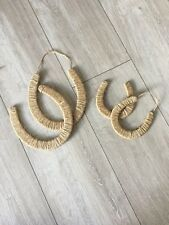 Diy Horseshoe Craft Plain Ready To Decorate Wedding New Home Medium Size