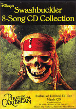 Disney Swashbuckler 8 Song CD Collection (CD Set) WORLD SHIP AVAIL!