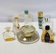 Miniature Perfume Cologne Bottles Lot of 8