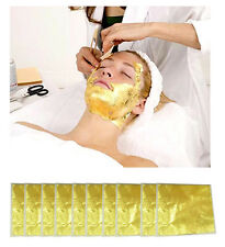 100 pcs 24K EDIBLE PURE GOLD LEAF MASK EXCLUSIVE LUXURY TREATMENT ANTI-AGING.4