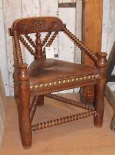 Original Period Antique Victorian Oak Chair  -  Warwick Reclamation
