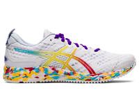 Asics Gel Noosa Tri 12 Womens White Red Blue Neutral Running Shoes 1012A578-100