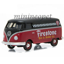 GREENLIGHT 96160B MOTOR WORLD SERIES 16 1976 VOLKSWAGEN PANEL VAN FIRESTONE 1/64
