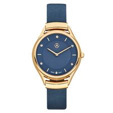 "Mercedes Benz Original Damen Armbanduhr ""Fashion Gold"" Edelstahl Neu OVP"