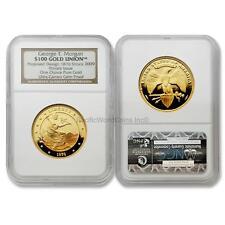 USA 2009 George T. Morgan Proposed Design 1876 $100 1 oz Gold NGC UC SKU# 6509