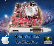 New Apple Mac Pro GT120 512MB PCI-E Video Card DVI Display Port 8800 120 4K 30hz