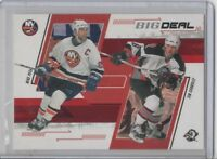 2001-02 IN THE GAME MIKE PECA & TIM CONNOLLY BIG DEAL #rd 200