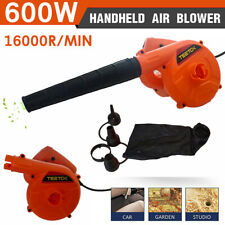 600W Electric Air Blower Hand Operated Car Computer Vacuum Dust Cleaner 220V