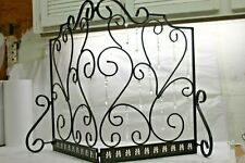 Antique Bronze Fireplace Screen with 24 Faceted Prisms by Valerie  00004000 Rtl$99