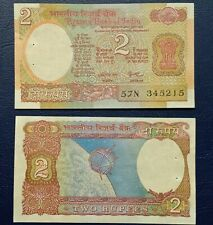 India 10 Rupees Old Series Peacock Series UNC P-81 Malhotra Lot of 5pcs