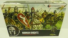 Conquista Juegos CG1-Figuras De Norman Caballeros 28mm