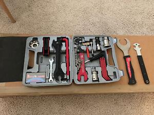 BIKE HAND Bicycle Repair Tool Kit 18pcs For SHIMANO Cycles Wrench Spaner + Bonus
