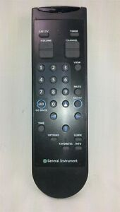 General Instruments INRC-42 Satellite TV Remote Control Tested Working