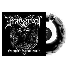 IMMORTAL NORTHERN CHAOS GODS White w/ black swirl vinyl