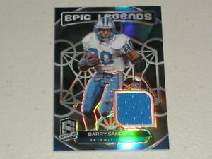 2020 Panini Spectra Football Epic Legends Jersey Barry Sanders 87/99