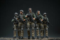 JOYTOY JTUS003 1/18 Scale US Marine Corps Force Recon 5 Figures Set Model Toy