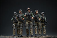 JOYTOY 1/18 Scale US Marine Corps Action Soldier Toys 5 Figures Set JTUS003 Gift