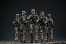 JOYTOY JTUS003 1/18 Scale US Marine Corps Action Soldier Toys 5 Figures Set Gift