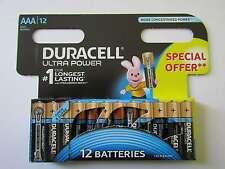 36x AAA Ultra Power Alkaline Batterie Duracell AR1094