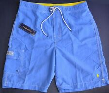 New 2XL 2XB 2X 44 45 46 Polo Ralph Lauren Men Swim trunks board shorts XXXL blue
