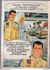 Publicité Michel Vaillant ELF
