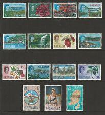 Grenada 1967 Complete set SG 262-276 Mnh.