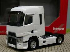 1//87 Herpa renault t 2-alineación tractor blanco
