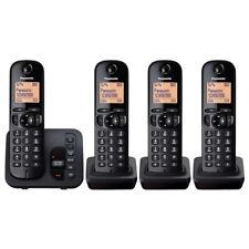 Panasonic KX-TGC224EB Telephone, DECT, Digital & Cordless, Quad Pack