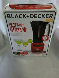 BLACK+DECKER BL4001R Party Blender Drink Machine Red New Open Box
