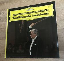 LP 33 tours Beethoven Bernstein Symphonie 3 Eroica NM *