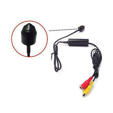 "1/4"" 700TVL Sony 3.7mm Lens Mini Wired Bullet CCTV Camera Microphone Video Audio"