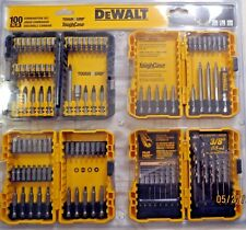 DEWALT 100-Piece driver Bits -Plastic shell cut to ship -OFFER FOR CUSTOM SETS