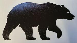 BEAR (BROWN BLACK GRIZZLY POLAR) CAR WINDOW LAPTOP VINYL DECAL / STICKER