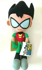 "Teen Titans Go Large Robin Plush 16"". Licensed Toy. New."