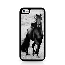 Black Horse Black Phone Case