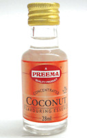 12 x 28ml Bottles Preema Culinary Coconut Essence Food Flavour Flavouring CASE