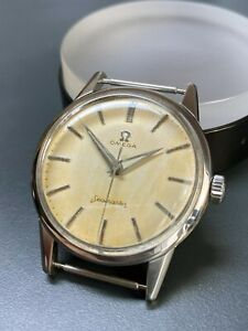 Omega Seamaster Vintage Watch 1961 Cal.285 Serviced 100% Authentic