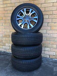 Genuine Ford Ranger Wildtrak Brand new Wheels and Bridgestone Tyres Set of 4