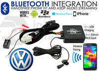 VW Touareg Tiguan Bluetooth streaming adapter handsfree calls iPhone Samsung HTC