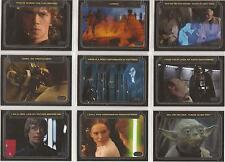 """Star Wars Galactic Files - """"Classic Lines"""" Set of 10 Chase Cards #CL1-10"""