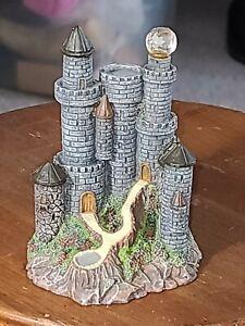 Miniature Castle Resin Wizard