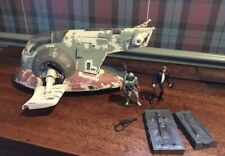 1996 Hasbro Boba Fett Slave Ship 1 + Boba Fett, Hans Solo and 2 Hans Carbonite