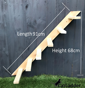 Cat Ladder Wall Or Fence Mounted Climber Steps Cat Climbing Ladder Tower