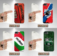 Cover per,Iphone,SPORT CALCIO PALLONE,silicone,morbido,basketball,palla,custodia