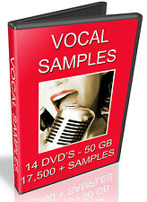 Vocal samples-Motif Recharge-Cubase-fl studio-Kontakt-Logic EXS24