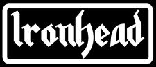 Ironhead VINYL decal for fender or saddle Fit's ALL V Twins
