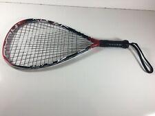 "Head Blast Liquid Metal Racquetball Racquet3 5/8 22"" Red Black White"
