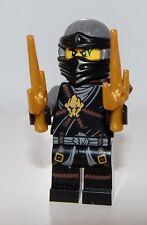 NEW Genuine Lego Ninjago Cole minifig minifigure split from 70595